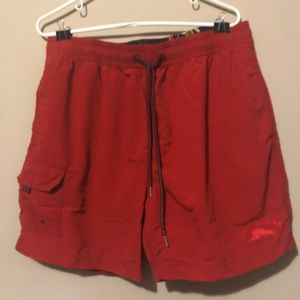 Tommy Bahama Relax Red Swim Trunk Shorts